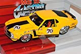 Maisto Ford Mustang Boss 302 Tuning Coupe 1970 Gelb 1/24 Modell Auto