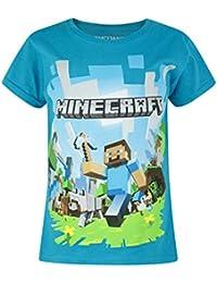 Oficial de Minecraft Adventure para niña de camiseta