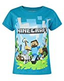 Official Minecraft Adventure Girl's T-Shirt (7-8 Years)