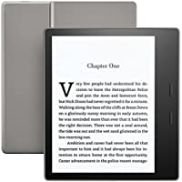 "Kindle Oasis E-reader - Graphite, Waterproof, 7"" High-Resolution Display (300 ppi), Built-In Audible, 8 GB Wi-Fi"