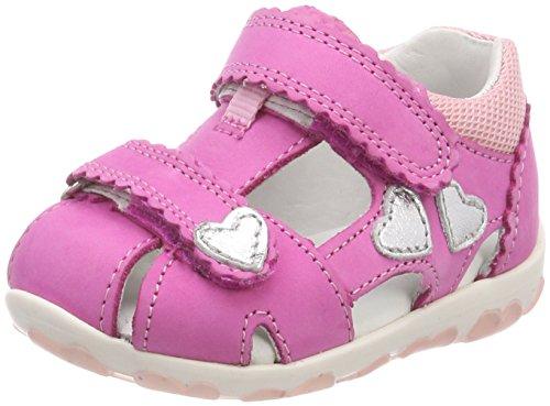 Superfit Baby Mädchen Fanni Sandalen, (Pink Kombi), 21 -