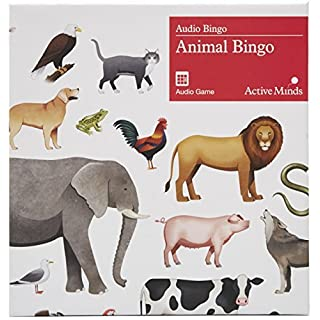 Animal Bingo: Audio Bingo Game for Adults Living with Dementia / Alzheimer's by Active Minds®