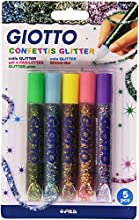 Giotto 545400 - Set de 5 tubos confetis 10.5 ml