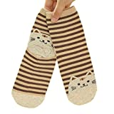 Die besten GENERIC Ankle Boots - Generic Damen Socken Gr. Einheitsgröße, coffee Bewertungen
