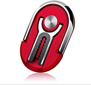 Multipurpose mobile phone holder stand 360 degree rotation, metal ring grip for home car