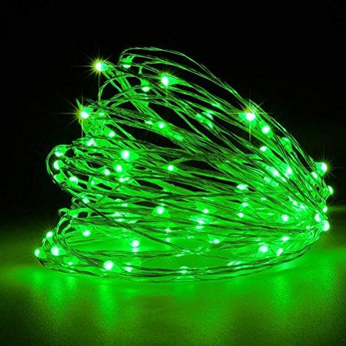 LEDMOMO Kupferdraht LED wasserdichte Micro Lichterkette Schnur