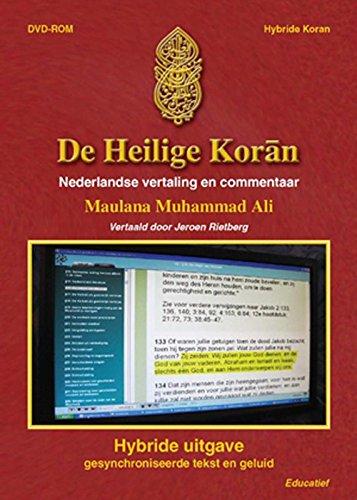 De Heilige Koran (hybride uitgave op DVD-ROM): lees-en luisterboek gesynchroniseerde tekst en geluid nederlandse vertaling en commentaar