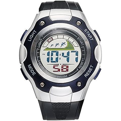 Studente orologio/Impermeabile orologio sportivo/Orologi di moda/ running Chronograph Watch-E