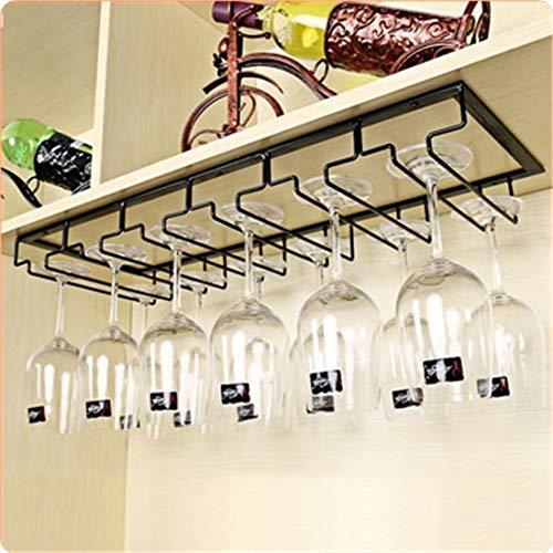 Este soporte para copas es perfecto para mostrar sus copas y organizar su hogar. Simplemente coloque el estante debajo de un estante/gabinete en la habitación de su elección y puede empezar a colgar sus copas. El soporte es perfecto para mantener sus...