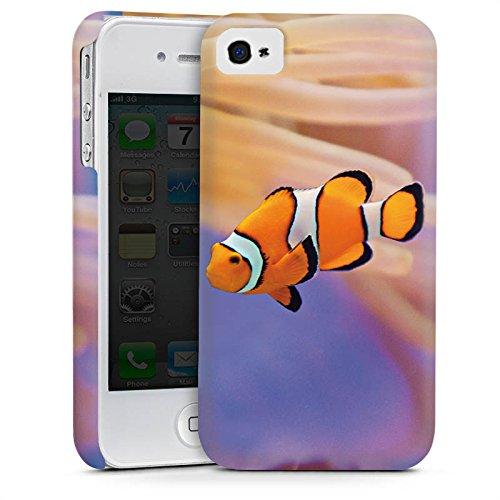 Apple iPhone 3Gs Housse étui coque protection Poisson anémone Poisson clown Poisson Némo Cas Premium mat