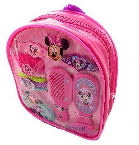 Disney Clubhouse Minnie Mouse  Hair Accessory Mini Backpack 10pieces
