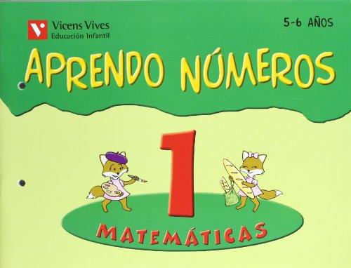 Aprendo Números. Cuaderno 1 - 9788431654498