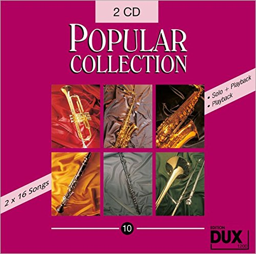 Popular Collection 10, Doppel-CD, Halb- und Vollplayback