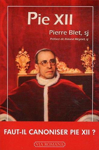 Pie XII par Pierre Blet