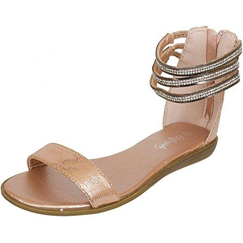 Refresh Shoes, Sandali donna Beige beige, Beige (oro), 40