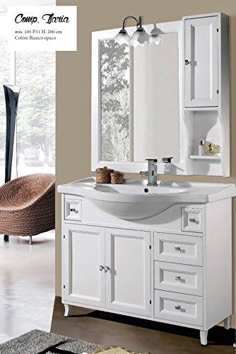 Arredo classico per bagno piccolo grandi sconti idee per arredare casa for Mobile lavabo bagno piccolo