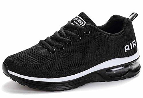 GFONE Women's Men's Unisex Running Trainers Shock Absorbing Air Walking Jogging Fitness Shoes Sports Sneakers Size 2.5-9.5