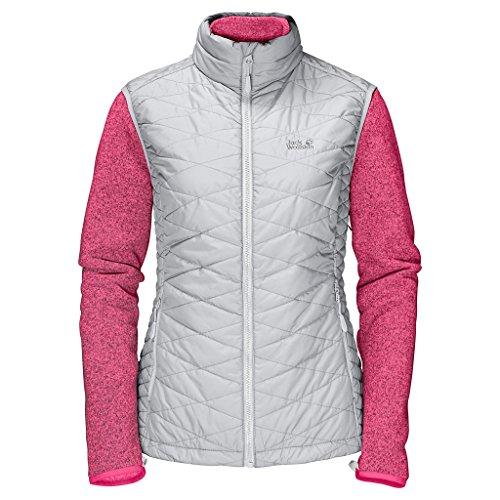 Jack Wolfskin Ladies Caribou Glen Jacket Grey Haze