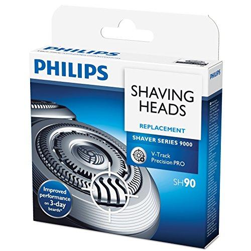 3 Ersatzscherköpfe für Shaver Series 9000 (SH90/60) ()