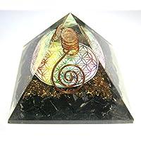 Excellent black Turmalin 138Gramm Blume des Lebens Orgonite Pyramide Crystal Healing metaphysisch Edelstein Feng... preisvergleich bei billige-tabletten.eu
