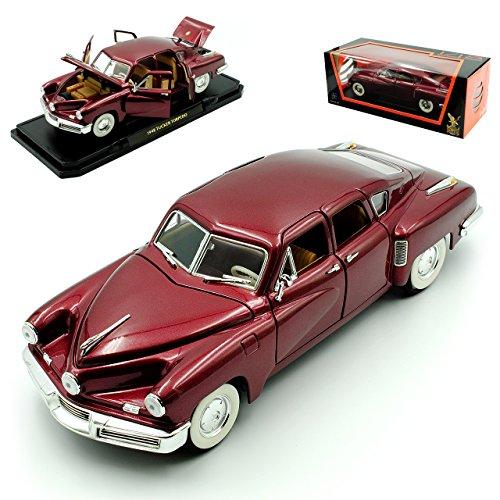 tucker Torpedo 1948 Limousine Rot Oldtimer 1/18 Yatming Modellauto Modell Auto Tucker Auto