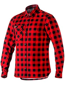 Camisa de manga larga Alpinestars Andres Tech Negro-Rio Rojo