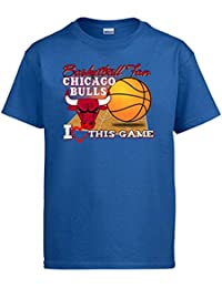 Camiseta NBA Chicago Bulls Baloncesto Basketball Fan I Love This Game