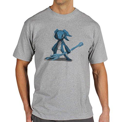 League Of Legends Champion Character Art Chivlarous Art Background Herren T-Shirt Grau