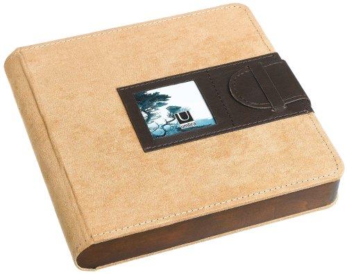 Umbra 308730-447 Chalet Lederimitat/Suede Fotoalbum für 104 Fotos 10 x 15 cm tan/espresso - Umbra-foto-album