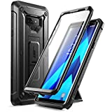 SUPCASE Unicorn Beetle Pro Series Full-Body Rugged Holster Cover Case with Built-in Screen Protector for Galaxy Note 9 (Black)