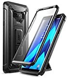 SUPCASE Samsung Galaxy Note 9 Hülle 360 Grad Handyhülle Outdoor Case Robust Schutzhülle Cover [Unicorn Beetle PRO] mit integriertem Displayschutz und Ständer für Galaxy Note 9 2018 (Schwarz)