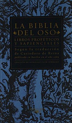 Descargar Libro Libros Proféticos y Sapienciales - La Biblia Del Oso (CLASICOS ALFAGUARA ADULTOS) de Casiodoro de Reina