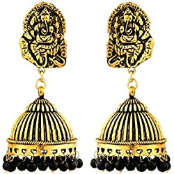 Watch Me Ethnic Traditional Jhumka Jhumki Party Wear Hangings for Women and Girls set combo Jewellery for Womens WMRPG-095