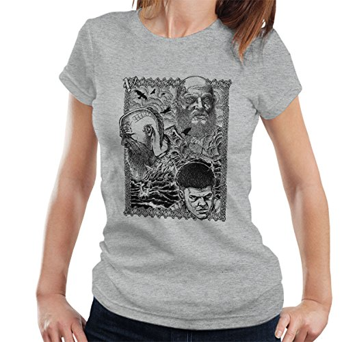 Vikings Legacy Love Legend Women's T-Shirt Heather Grey