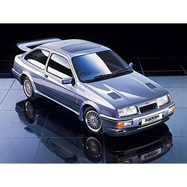 Ford Sierra Cosworth Poster Print A3 420x297mm Fo121a3 Amazon Co