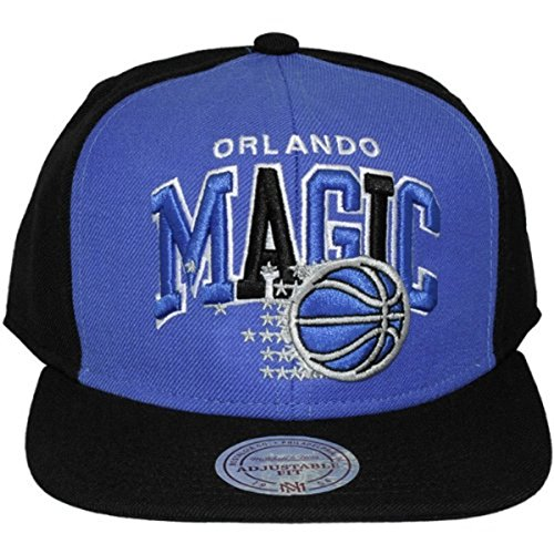 Mitchell & Ness Kappe Cappy Cap Herren Orlando Magic Schwarz Blau