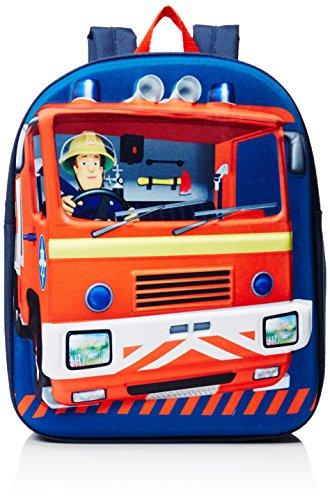 Fireman Sam Kinderrucksack, blau (blau) - SAM001034
