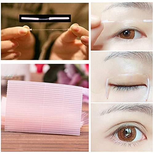 Blue Vessel 52 teile/beutel Double Eyelid Tapes Augenlidklebeband Unsichtbar und Wasserdicht Double Augenlid-Tape Lifting