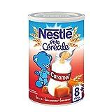 Nestlé Bébé P'tite Céréale Caramel - Céréales Déshydratées dès 8 Mois - Boîte de 400g - Lot de 4