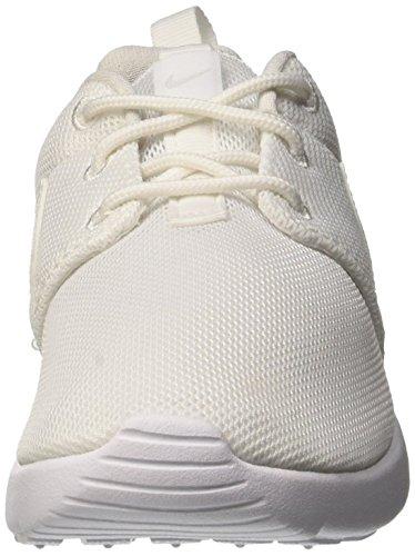 Nike Roshe One (PS), Chaussures de Sport Fille, Blanc, 27.5 EU Blanc Cassé (Multicolore (Blanco / Gris (White / White-Wolf Grey))Blanco / Gris White / White-Wolf Grey)