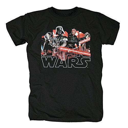 TShirt-People TSP Star Wars - Characters T-Shirt Herren Black
