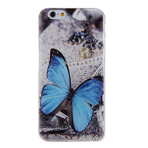 Etche Boîtier en caoutchouc pour iPhone 5C,Cas de TPU pour iPhone 5C,Coque pour iPhone 5C,Colorful série Imprimé Housse de la peau de pare-chocs TPU Soft en caoutchouc de silicone pour iPhone 5C Gratu TPU #8