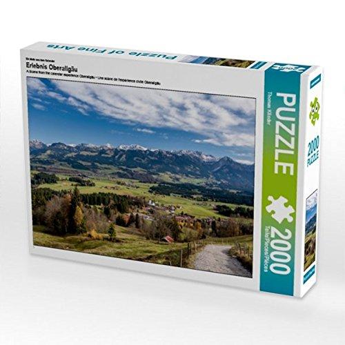 Ein Motiv aus dem Kalender Erlebnis Oberallgäu 2000 Teile Puzzle quer