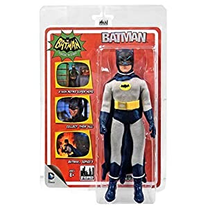BATMAN 1966 TV SERIES 5; 8 INCH ACTION FIGURE,BATMAN WITH REMOVEABLE COWL by Batman 1966 TV Series 7