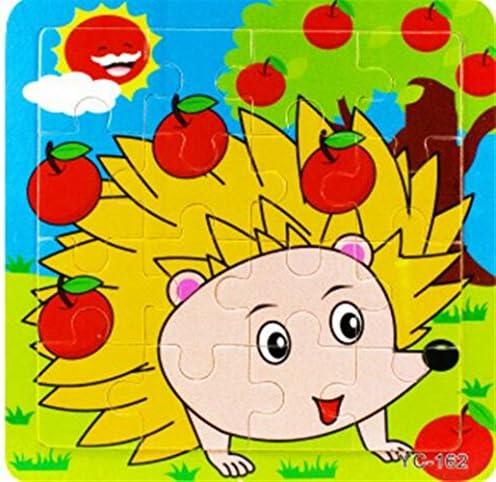Jouets Puzzles pour pour pour bébé Beau Peg Puzzle Education Toy Learning Fantastic Cadeaux pour les enfants (Hérisson) 9b3718