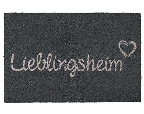 Fußmatte Lieblingsheim Liebling Heim Lieblingsmensch