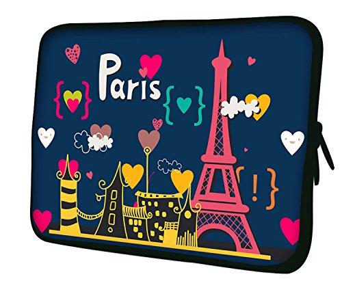 Bella-laptop-tasche ('Luxburg® 14Zoll HF05Tasche für Laptop/Tablet-Belle Paris)