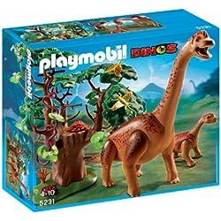 Playmobil - Braquiosaurius con bebé (5231)