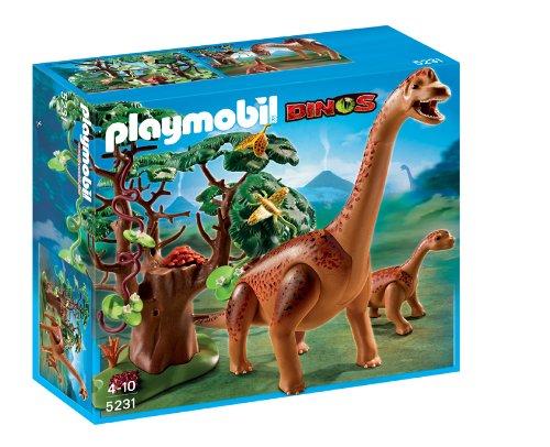 Playmobil Braquiosaurius con bebé (5231)