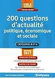 200 questions d'actualité politique, économique et sociale